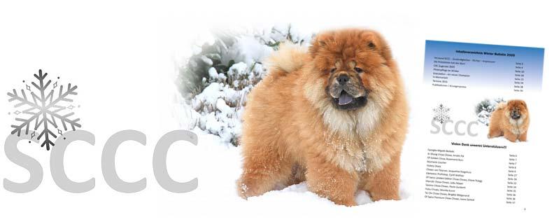 Winterausgabe des Chow-Chow Bulletin des Schweizer Chow-Chow Club
